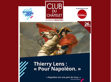 CLUB DU CHÂTELET – POUR NAPOLÉON